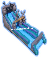 giant Dead Wood inflatable water slide