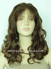 Mogolian hair jewish wig Autumn Trend big wave