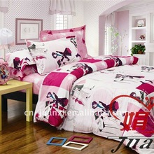 Hot selling 4 PCS bed sheet set in American