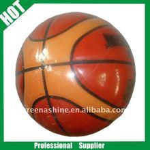 Rubber basketball training match basketball