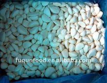 Frozen peeled garlic cloves