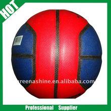 4 panels colorful promotion PU butyl bladder basketball