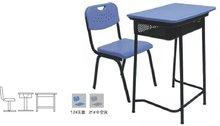 powerful single montessori school furniture HK01+KZ015single school desk and chairHK01
