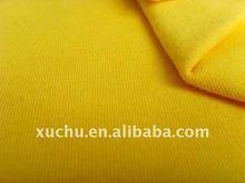 cotton spandex single jersey plain dyed cotton fabric