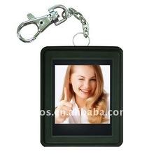 mini digital photo frame keychain