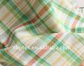 100% fios de linho tingido de vestuário de tecido
