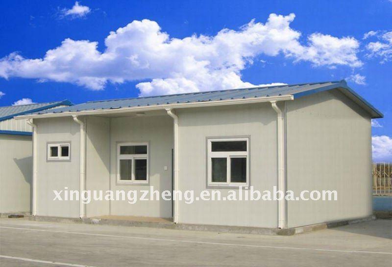 De una sola planta moderna casa prefabricada prefabricados - Casa prefabricada moderna ...