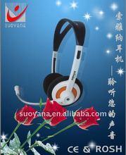 Clear digital sound air tube headsets