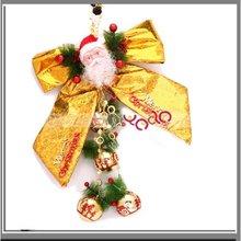 Medium Golden Bow/Christmas Decoration For Tree