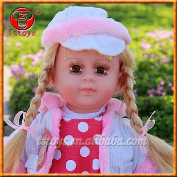 Attractive 22inch girls life size doll