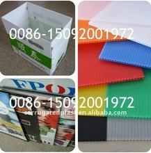 Plastic Polypropylene PP Twin Walls Hollow Sheet