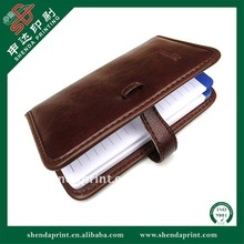 2012 PU Leather Cover Notebook with Calendar SDPB-110003