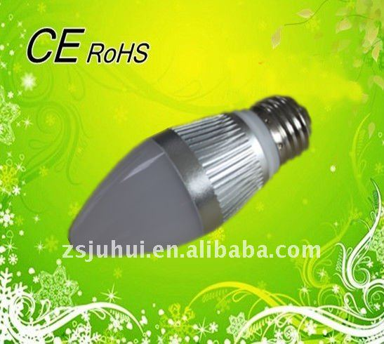 Top Ip22 Selling High Quality E14 3W LED Candle Bulb