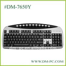 factory direct sale cheap multimedia keyboard