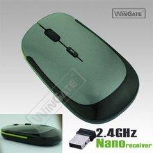 Ultra-thin Mini 2.4G USB Wireless Optical Mouse