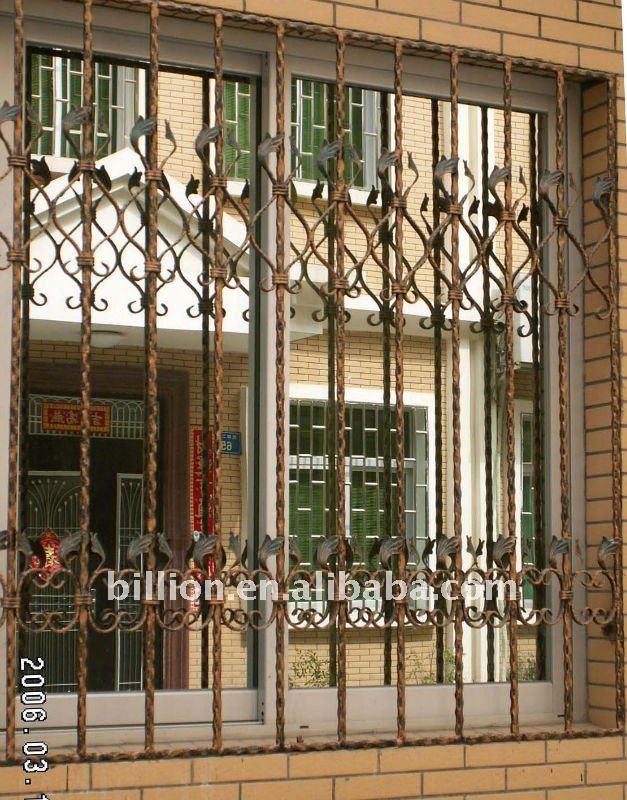 Window iron grill designs joy studio design gallery for Window design iron