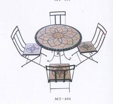 Round masaic table top