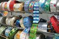 Pvc/ pet/ ops/ opp/ embalagem bopp& impressão de etiquetas
