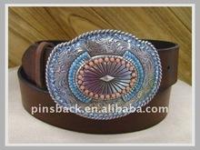 2012 die cast belt buckle