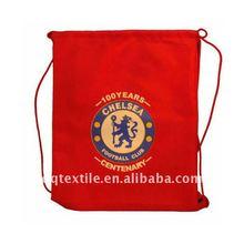 chelsea football club fans 210T nylon Drawstring Bag