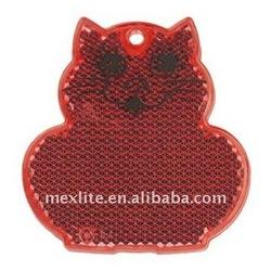 Pedestrian Reflectors Cat Red Color
