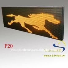 P20 Waterproof LED Message Display Outdoor
