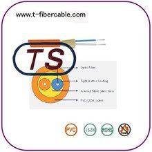 SM Duplex Round Fiber Optic Cable for Communication