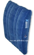 2011 hot promotion PVC inflatable back cushion for sale