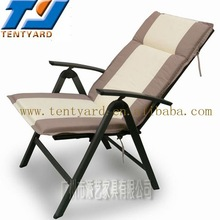 inflatable and most fashion ratten chair cushion with top material