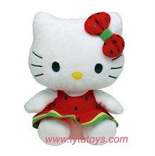Promotional Plush Hello Kitty Toys For Girls