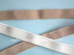 Soft Plush Edging Tapes,Shiny Edge Binding Elastic