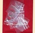 Ldpe ziplock joyería/reclosalbe bolsa para embalaje anillo del dedo