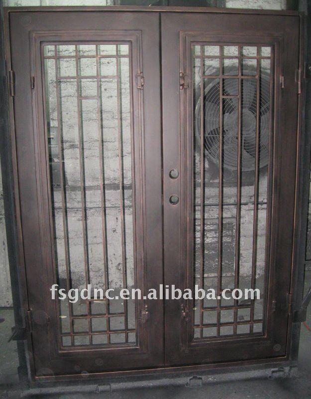 M tal porte d 39 entr e - Porte coulissante metal ...