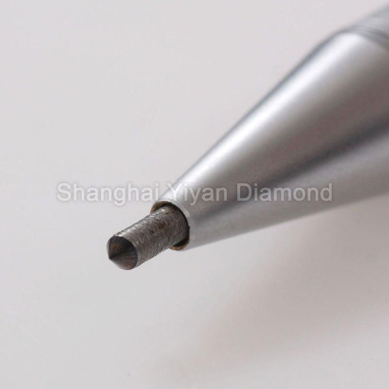 رسم القلم على السيراميك مع طرف الماس