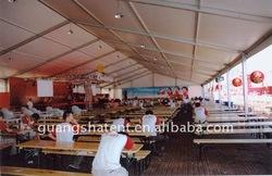 Mess hall tent