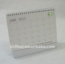 excel calendar 2012