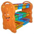 Big wolf multi-functional toy shelf