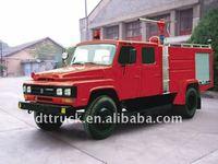 Dongfeng 4x2 powder fire fighting truck (long head)