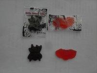 gummy spider and bats