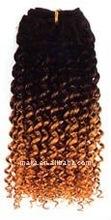 Afro kinky bulk synthetic hair bulk