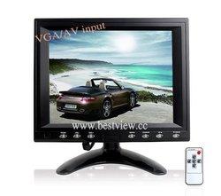 RCA/VGA input 8 inch car monitor