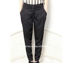 newest style long ladies pants 2012