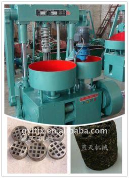 Multifunctional rice husk briquette making machine