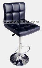 Preto PU chrome bar stool K-1313C