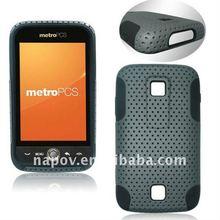 Napov silicone back cover hard case for motorola atrix 4g mb860