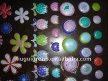 2011 newest cute epoxy bubble/puffy sticker for kids