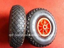 plastic wheels pneumatic tires