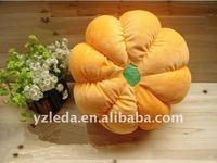 plush pillow pumpkin toys&cushion toy&soft back pillow