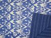 Ikat Quilt in Blue,kantha Quilts manufacturer