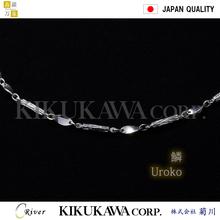 Delicate beauty palladium necklace for men's fashion accessory